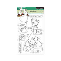 Penny Black - Clear Photopolymer Stamps - My Love
