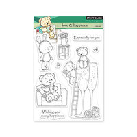 Penny Black - Clear Photopolymer Stamps - Love and Happiness