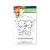 Penny Black - Clear Photopolymer Stamps - Rain Or Shine