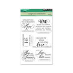 Penny Black - Clear Photopolymer Stamps - Scripture Sentiments
