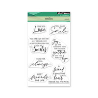 Penny Black - Clear Photopolymer Stamps - Smiles