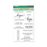 Penny Black - Clear Photopolymer Stamps - Hope Sentiments