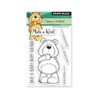 Penny Black - Clear Photopolymer Stamps - Bear-y Wishful