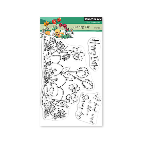 Penny Black - Clear Photopolymer Stamps - Spring Day