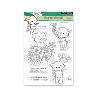 Penny Black - Delight Collection - Clear Photopolymer Stamps - Fragrant Friends