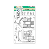 Penny Black - Dream and Discover Collection - Clear Photopolymer Stamps - At Ease