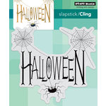 Penny Black - Halloween - Cling Mounted Rubber Stamps - Spidery Wishes