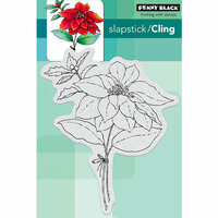 Penny Black - Cling Mounted Rubber Stamps - Red Sparkle