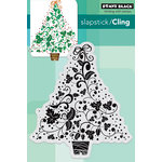 Penny Black - Christmas - Cling Mounted Rubber Stamps - Festive