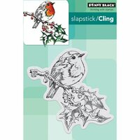 Penny Black - Cling Mounted Rubber Stamps - Overjoyed