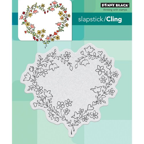 Penny Black - Cling Mounted Rubber Stamps - Sweetheart