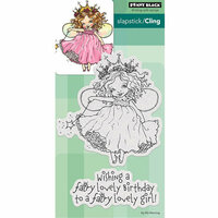 Penny Black - Cling Mounted Rubber Stamps - Fairy Birthday