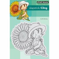 Penny Black - Cling Mounted Rubber Stamps - Sunflower Baby