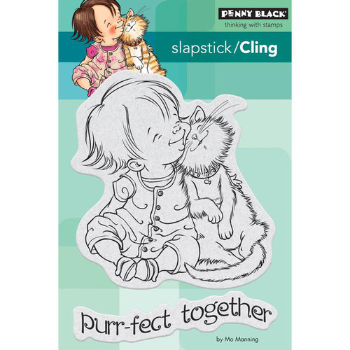Penny Black - Cling Mounted Rubber Stamps - Purr-fect
