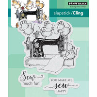 Penny Black - Cling Mounted Rubber Stamps - Sew Much Fun