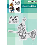 Penny Black - Cling Mounted Rubber Stamps - Hello Autumn
