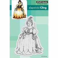 Penny Black - Halloween - Cling Mounted Rubber Stamps - Chubby Witch