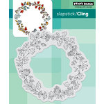 Penny Black - Christmas - Cling Mounted Rubber Stamps - Berry Circle