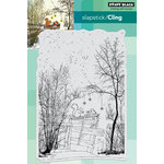Penny Black - Christmas - Cling Mounted Rubber Stamps - Under the Trees