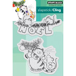 Penny Black - Christmas - Cling Mounted Rubber Stamps - Getting Ready