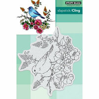 Penny Black - Cling Mounted Rubber Stamps - Flower Perch
