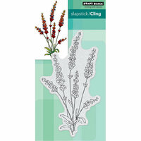 Penny Black - Cling Mounted Rubber Stamps - Tranquil Buds