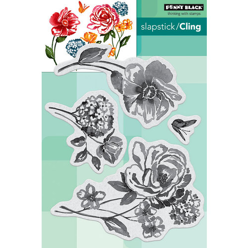 Penny Black - Flower Pageant (shop Scrapbook.com)