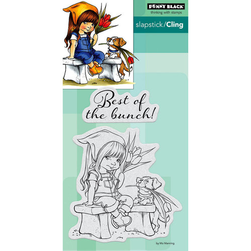 Penny Black - Cling Mounted Rubber Stamps - The Bunch