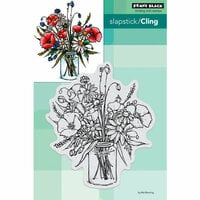 Penny Black - Cling Mounted Rubber Stamps - Vase Garden