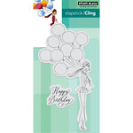 Penny Black - Cling Mounted Rubber Stamps - Birthday Balloons