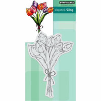 Penny Black - Cling Mounted Rubber Stamps - Tulip Bouquet