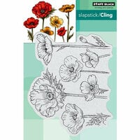 Penny Black - Cling Mounted Rubber Stamps - Parade of Flowers