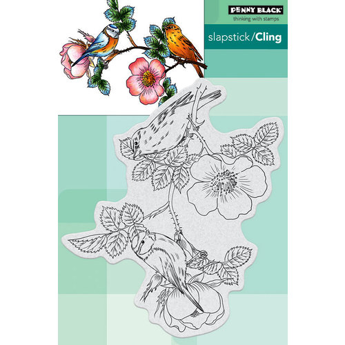 Penny Black - Cling Mounted Rubber Stamps - Melody Makers