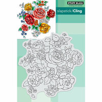 Penny Black - Cling Mounted Rubber Stamps - Floral Medley