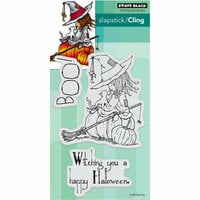Penny Black - Halloween - Cling Mounted Rubber Stamps - Witching You