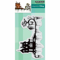 Penny Black - Halloween - Cling Mounted Rubber Stamps - Dark Night