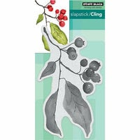 Penny Black - Christmas - Cling Mounted Rubber Stamps - Christmas Berries