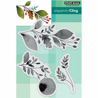 Penny Black - Christmas - Cling Mounted Rubber Stamps - Xmas Sprig
