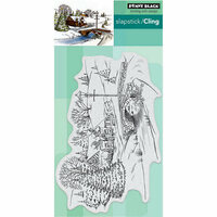 Penny Black - Christmas - Cling Mounted Rubber Stamps - Peaceful Village