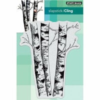 Penny Black - Christmas - Cling Mounted Rubber Stamps - Birches