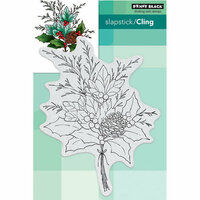 Penny Black - Christmas - Cling Mounted Rubber Stamps - Christmas Arrangement