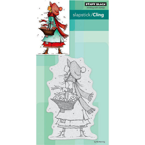 Penny Black - Christmas - Cling Mounted Rubber Stamps - Christmas Wishes