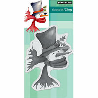 Penny Black - Christmas - Cling Mounted Rubber Stamps - Bundle Up