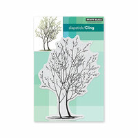 Penny Black - Timeless Collection - Cling Mounted Rubber Stamps - Trees In Bud