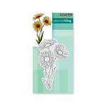 Penny Black - Timeless Collection - Cling Mounted Rubber Stamps - Daisies