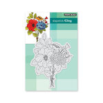 Penny Black - Timeless Collection - Cling Mounted Rubber Stamps - Bouquet Ballet