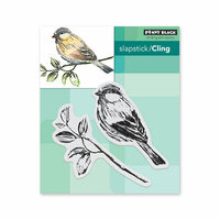 Penny Black - Timeless Collection - Cling Mounted Rubber Stamps - Just Looking