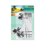 Penny Black - Cling Mounted Rubber Stamps - Paradise