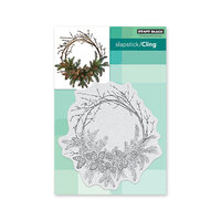 Penny Black - Christmas - Cling Mounted Rubber Stamps - Homespun