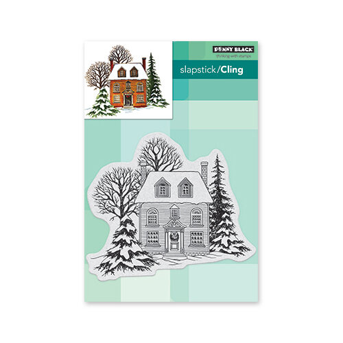 Penny Black - Christmas - Cling Mounted Rubber Stamps - Warm Reception